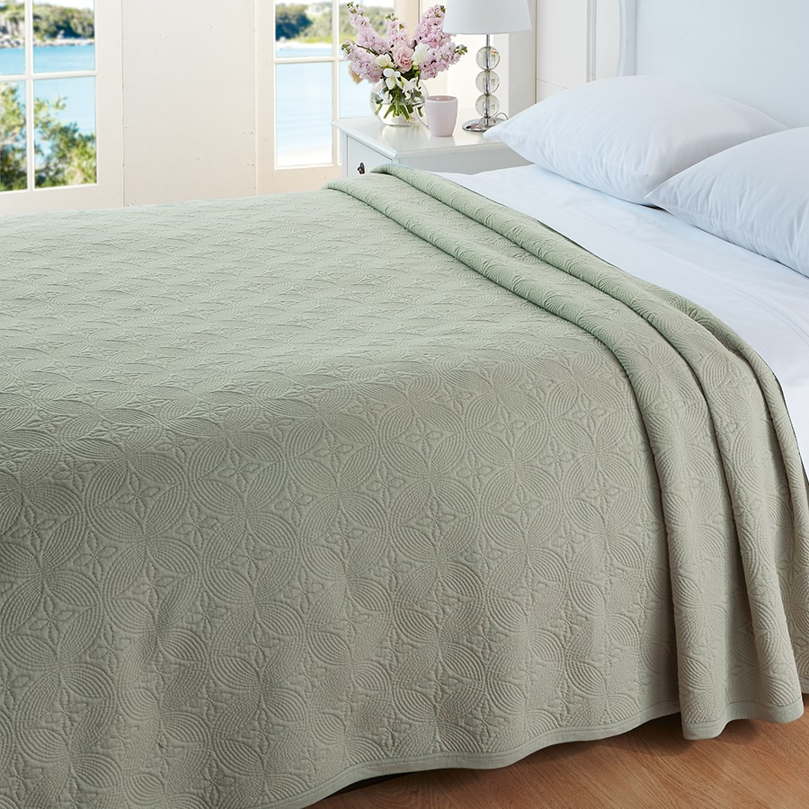 Cotton Knit Summer Blanket Home Collections