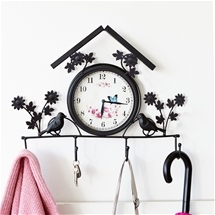 Clock & Coat Hanger