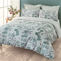 Layla Sage Quilt Cover Set