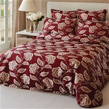 Paddington Red Quilt Cover Set