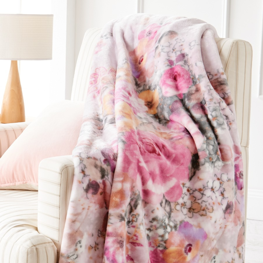 Floral Watercolour Blankets_FWCB_1