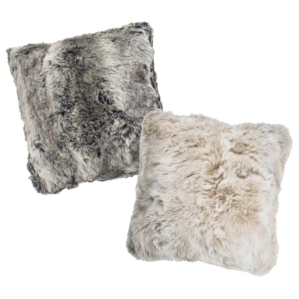 Faux Fur Throws and Cushions